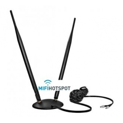 9 Dbi Dual Pole Antenne voor 2G/ 3G/ LTE SMA 2x