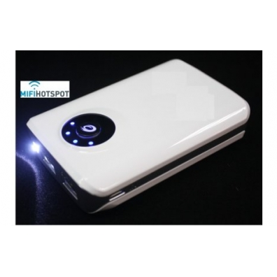 Power Bank 8400 mAh Mobiele Lader Wit
